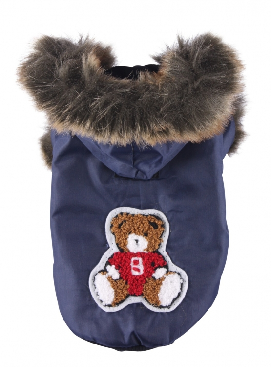 Doggydolly Big Dog- Hundemantel Blue Eskimo