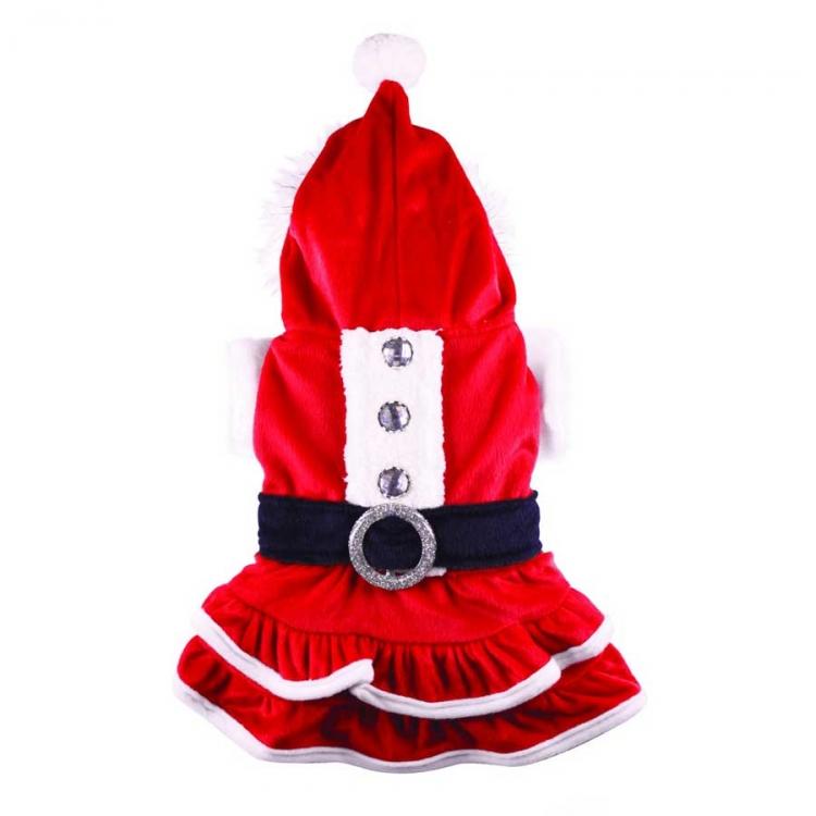 dogone weihnachtshundemantel f r m dchen. Black Bedroom Furniture Sets. Home Design Ideas