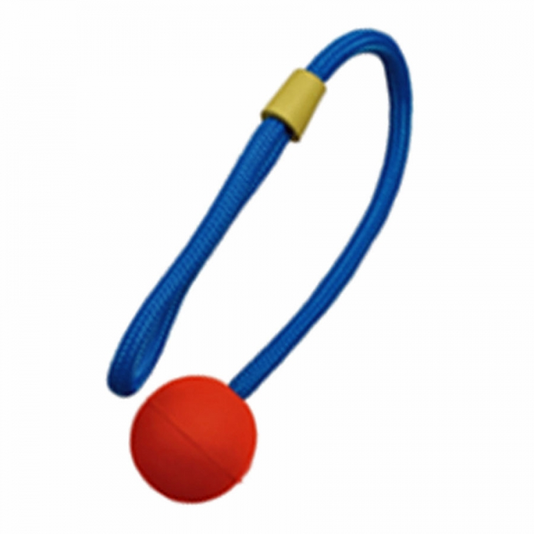 RUBBnCOLOR BALLnROPE L Kordel 50cm Ball 7cm robust, Farbe variie