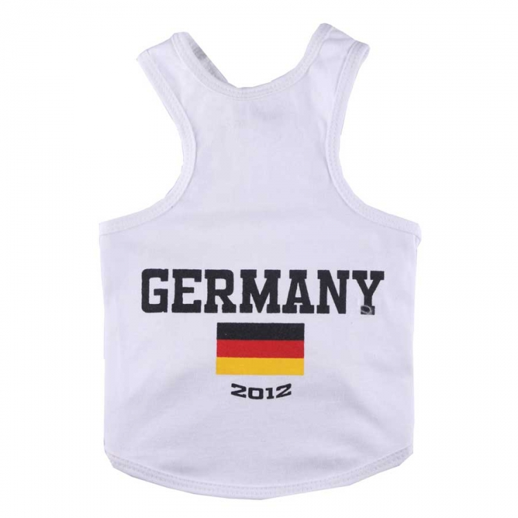 Doggydolly BIG DOG Nationaltrikot Deutschland 2012 Tanktop