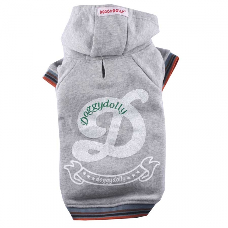 Doggydolly BIG DOG Hundesweatshirt D grau