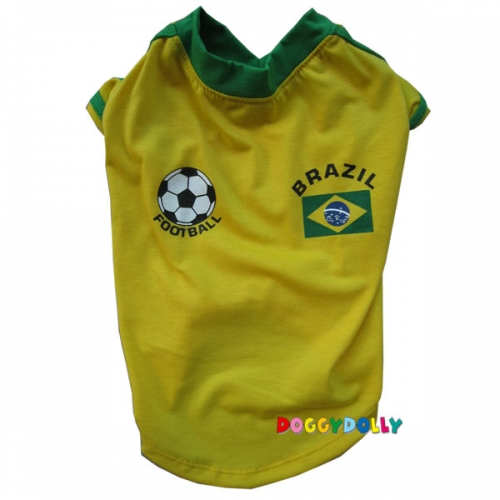 Doggydolly Fußballtrikot Brasilien BIG DOG