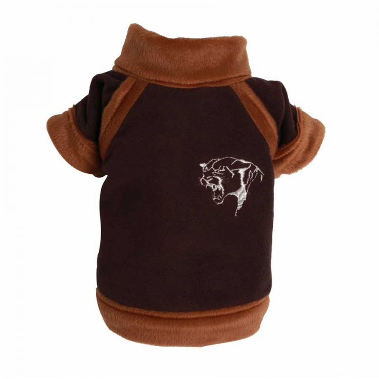 Doggydolly Big Dog Tiger Fleece braun