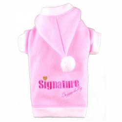 Doggydolly BIG DOG Hundepulli Fleece Signature rosa