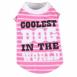 Doggydolly BIG DOG Hundeshirt Coolest Dog pink