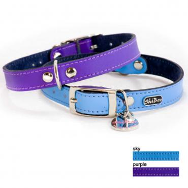 Hundehalsband Matt-15 35x1,5cm purple