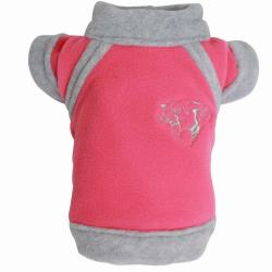 Doggydolly Big Dog Tiger Fleece pink