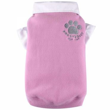 Doggydolly Big Dog Fleecepulli rosa
